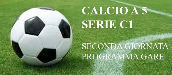CALCIO A 5 PROGRAMMA GARE