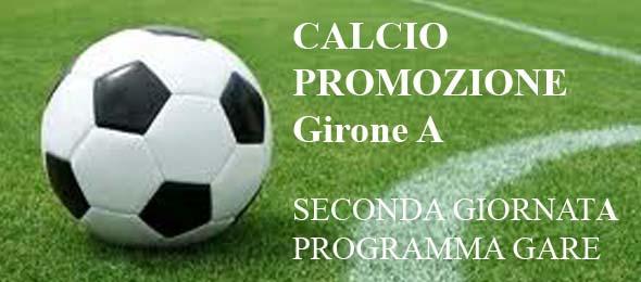 CALCIO PROMOZIONE Programma gare 2