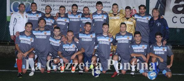 3527 INDOMITA POMEZIA Seconda Categoria SQUADRA 2013-14