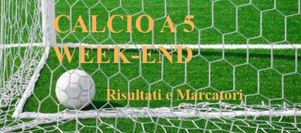 CALCIO A 5 WEEKEND