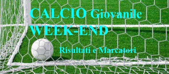 CALCIO GIOVANILE WEEKEND