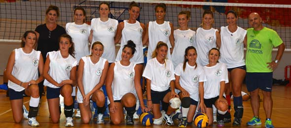 VOLLEY CLUB POMEZIA Prima Divisione SQUADRA 2014-15