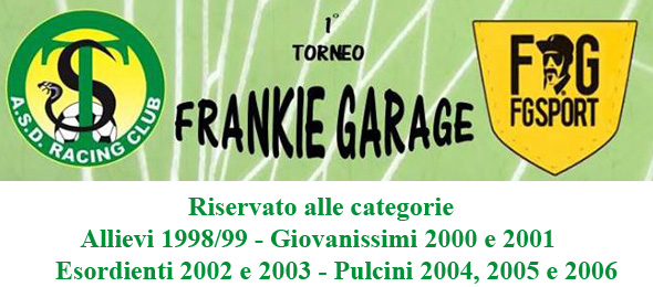 TORNEO FRANKIE GARAGE Locandina sito