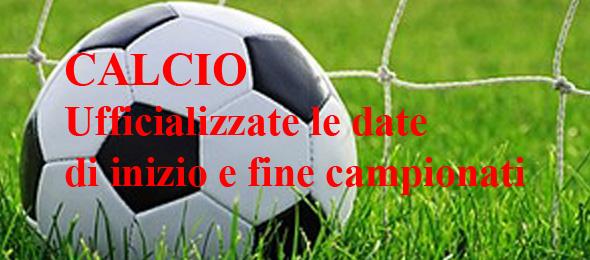 CALCIO DATE