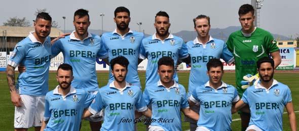 APRILIA CALCIO squadra 2015-16