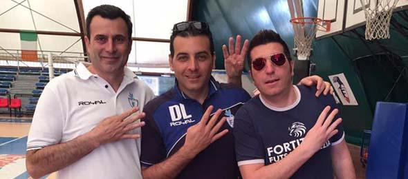 FORTITUDO POMEZIA Serie C2 ESPOSITO-LOSCRI'-AIELLO